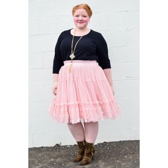 ddda75cf19 Lane Bryant Skirts | Tulle Skirt | Poshmark
